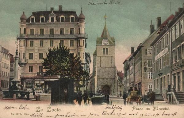 Le Locle. Palace du Marché Vorderseite