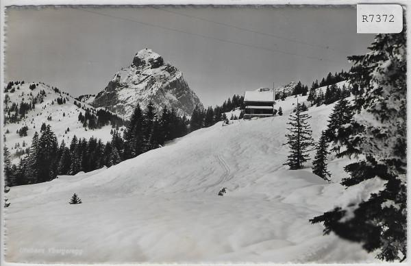 Ibergeregg - Utohaus S.A.C. im Winter en hiver
