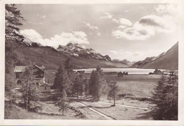 Hotel Waldheim, Surley (Surlej) b. Silvaplana. 1946