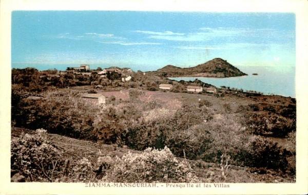 Ziamma-Mansouriah, Presqu Ile et les Villas Vorderseite