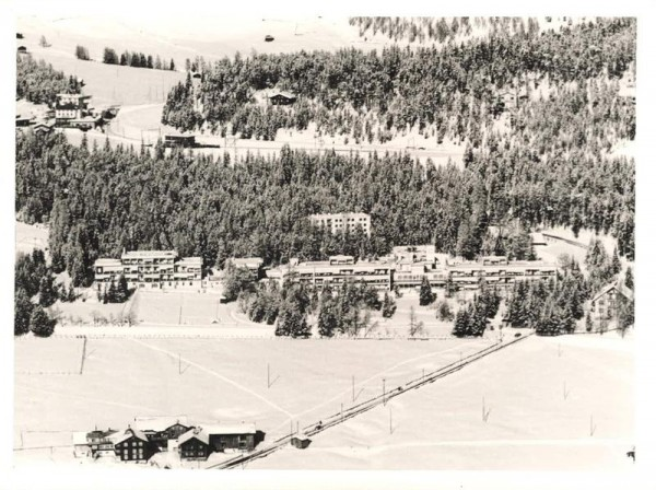 7265 Davos GR, Prättigauerstr., Herman Burchard Str. 1 -Hochgebirgsklinik/ Wolfgangpass Vorderseite