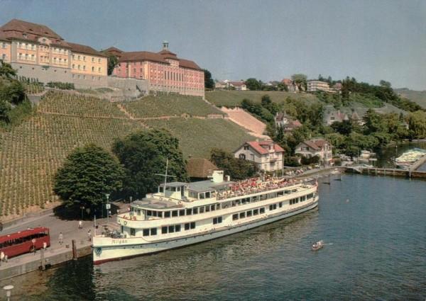 """Die """"Allgäu"""" im Hafen von Meersburg am Bodensee D Vorderseite"""