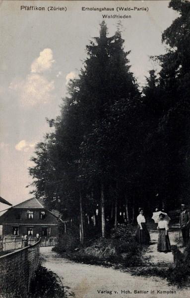 Erholungshaus (Wald-Partie) Waldfrieden, Pfäffikon