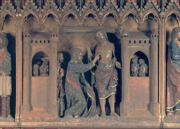 La Cathédrale Notre-Dame de Paris. Bas-relief du déambulatoire sud Vorderseite
