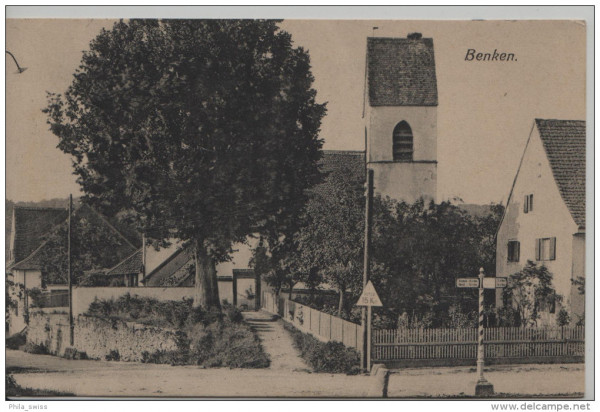 Biel-Benken - Benken - Kirche (Baselland)