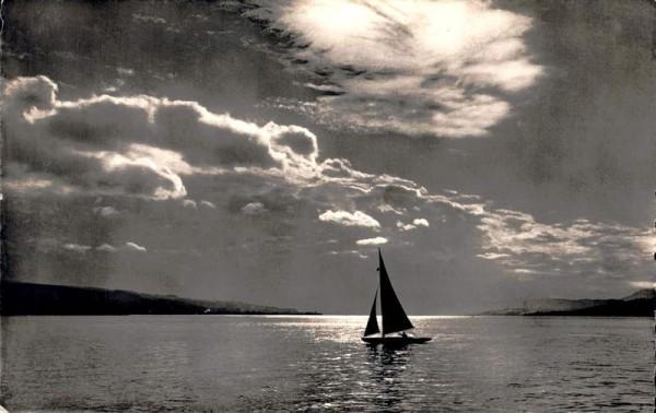 Stimmung am Zürichsee. 1941 Vorderseite
