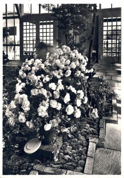 Schweizerische Landesausstellung 1939. Pavillon 41. Blumenhalle Vorderseite