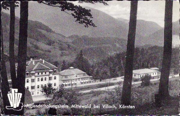 Jugenderholungsheim Mittewald bei Villach, Kärnten