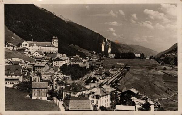 Disentis. 1934 Vorderseite