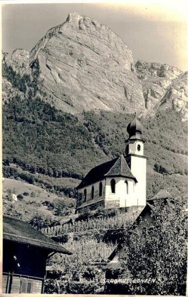 Sargans. Gonzen. 1939 Vorderseite