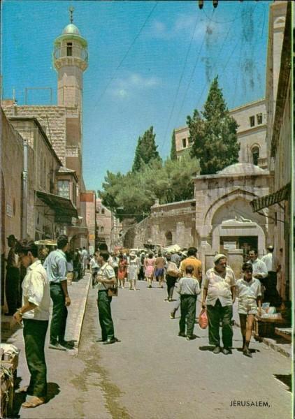 Jerusalem Vorderseite