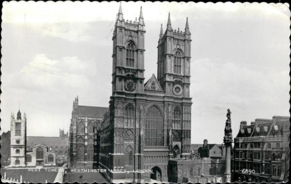Westminster Abbey Vorderseite