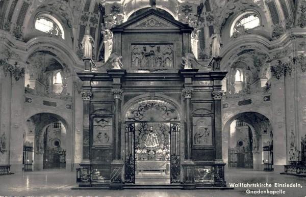 Wallfahrtskirche Einsiedeln, Gnadenkapelle Vorderseite
