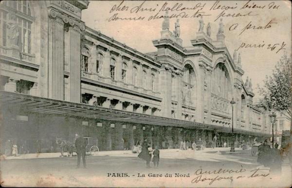 Paris, La Gare du Nord Vorderseite